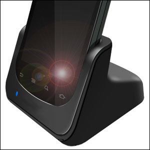 Dock Bureau Google Nexus S avec téléphone