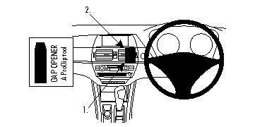 Brodit ProClip Centre Mount - BMW X5 07-11