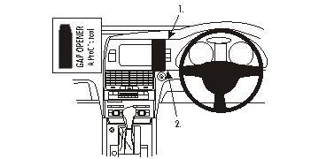Brodit ProClip Centre Mount - Audi Q7 06-11