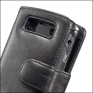 Capdase Classic Leather Book Case For BlackBerry Bold 9700