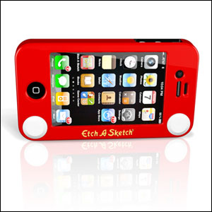 Etch A Sketch Case for iPhone4