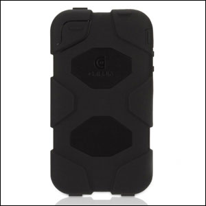 Griffin Survivor iPhone SE Case - Black