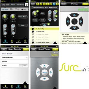 Surc Universal Remote Case for iPhone 4 - Black