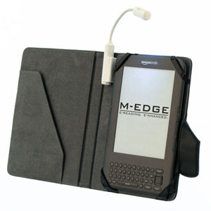 M-Edge Executive Jacket with e-Luminator Light for Amazon Kindle - Black
