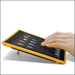 Coque iPad2 Macally DeskStand2 Vertical