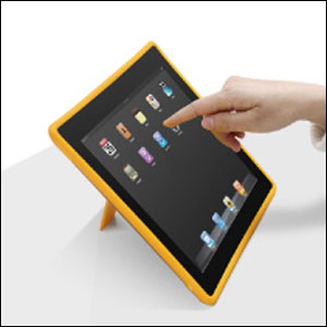 Coque iPad2 Macally DeskStand2 inclinaison 1