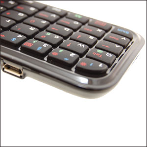 Mini teclado Bluetooth QWERTZ