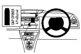 Brodit ProClip Centre Mount - Citroen C4 05-10