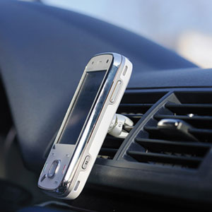 Tetrax Geo Universal Car Phone Holder - Dark Steel