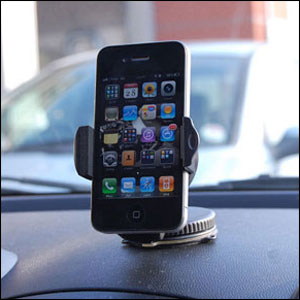 OmniHolder Universal Case Compatible In Car Windscreen and Dashboard Mount