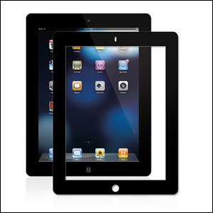 Moshi iVisor AG Anti Glare Screen Protector for iPad 2 - Black