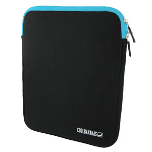 Cool Bananas ShockProof Pouch for iPad 3 / iPad 2 - Aqua