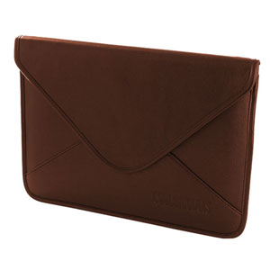 Cool Bananas Leather iPad 3 / iPad 2 Envelope Case - Brown