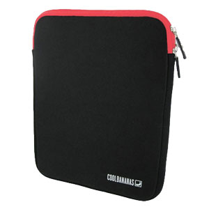 Cool Bananas ShockProof Pouch for iPad 2 - Cherry Red