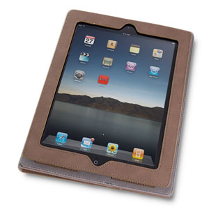 SD TabletWear LuxFolio iPad 2 Case - Brown