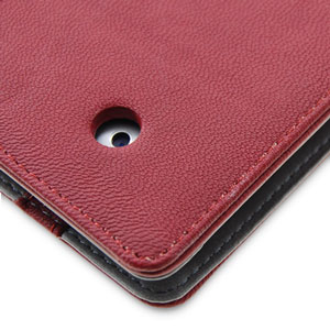 SD TabletWear LuxFolio iPad 2 Case - Red