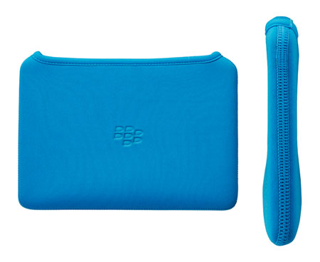 Housse BlackBerry Playbook néoprène - Bleue Ciel