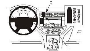Brodit ProClip Center Mount  - Ford C-Max 04-10