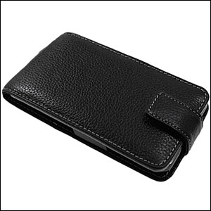 Samsung Galaxy S2 Alu-Leather Case - Black