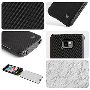 Zenus Prestige Carbon Series for Samsung Galaxy S2 i9100 - Black