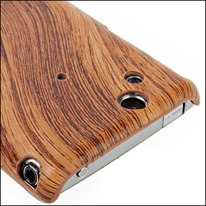 Sony Ericsson XPERIA Arc Wood Design Hard Case - Light Wood