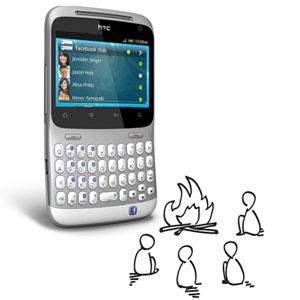 Sim Free HTC ChaCha