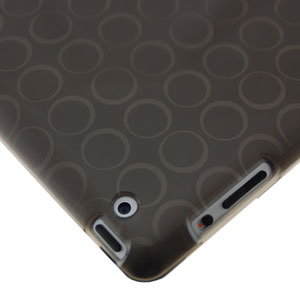 Dexim Durable TPU Sleeve for iPad 3 / iPad 2 - Black