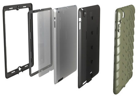 Gumdrop Drop Series Case for iPad 2 - Military Edition