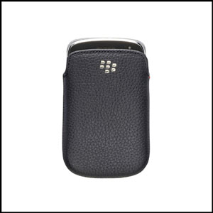 Leather Pocket for BlackBerry Bold 9900