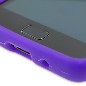 Silicone Case for Samsung Galaxy S2 - Purple