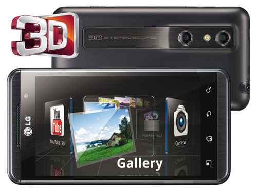Sim Free LG Optimus 3D
