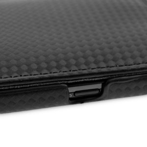 Genuine Leather Flip Case for Samsung Galaxy S2