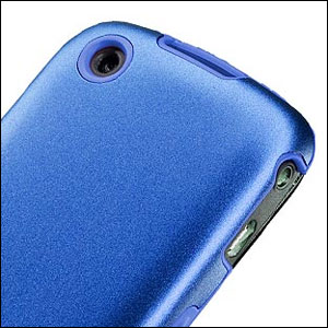 Capdase Alumor Metal Case - BlackBerry Curve - Blue