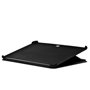 Samsung Galaxy Tab 10.1 Leather Book Case - Black