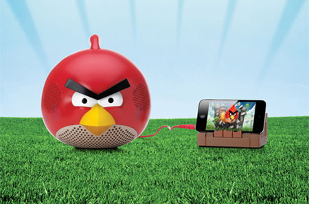 Gear4 Angry Birds Speaker - Red Bird