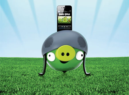 Gear4 Angry Birds Speaker - Helmet Pig
