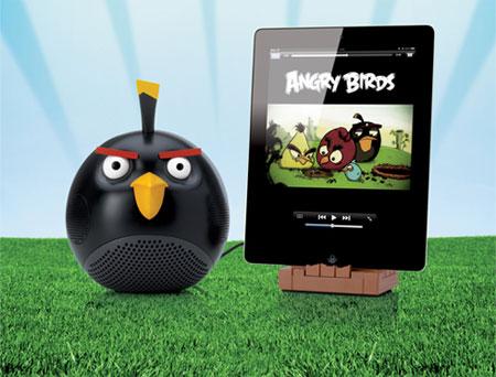 Gear4 Angry Birds Speaker - Black Bird