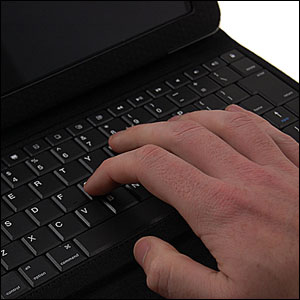 KeyCase Pro Folio with Bluetooth Keyboard For iPad 2 - Black