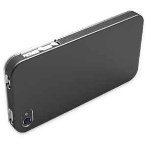 Pinlo United Aluminium Case for iPhone 4 - Titanium Grey
