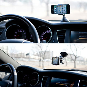 Universal Charging Car Holder Kit