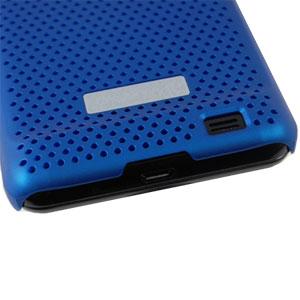 Mesh Case Galaxy S2 blau