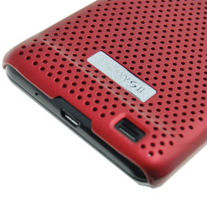 Samsung Galaxy S2 Mesh Case rot