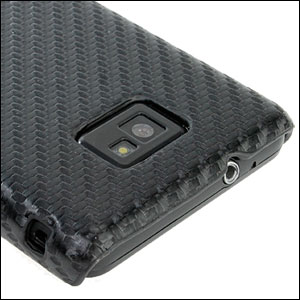 Samsung Galaxy S2 Carbon Fibre Case - Black