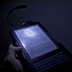 Tuff Luv Night Bright Spark Clip-On LED Reading Light - Black
