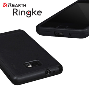 Rearth Ringke Case for Samsung Galaxy S2 - Black