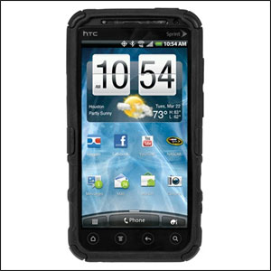 Seidio Active Case for HTC Evo 3D - Black