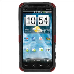 Seidio Active Case for HTC Evo 3D - Burgundy