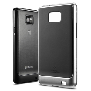 SGP Neo Hybrid Case for Samsung Galaxy S2 - Black/Silver