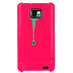 Bling My Thing Samsung Galaxy S2 SPLASH! Hard Case - Pink