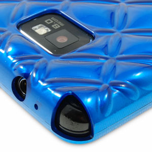 Samsung Pleomax Bling Bling Case for Galaxy S2 - Blue